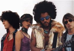 Lenny Kravitz Band From Left To Right; Craig Ross (Guitarist), Cindy Blackman (Drummer), Lenny Kravitz (Frontman), Jeff Black (Bassist)
